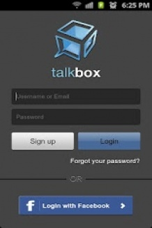 TalkBox Voice Messenger, free Android app